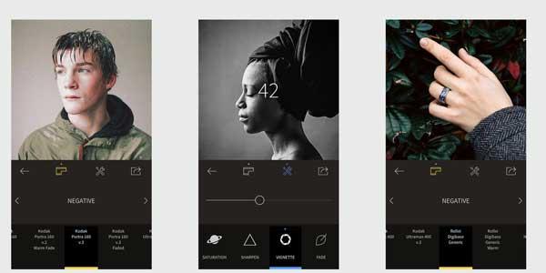 Nejlepší aplikace pro úpravy fotografií pro iPhone - RNI Films