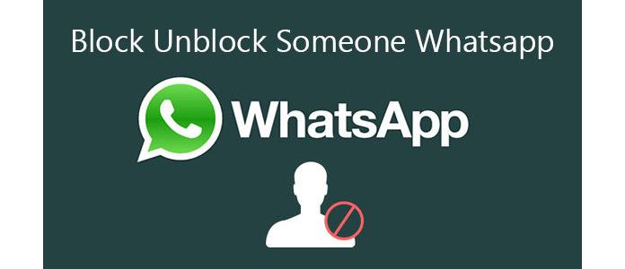 Πώς να αποκλείσετε κάποιον στο WhatsApp