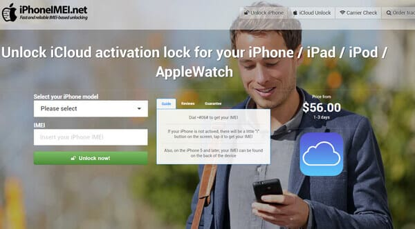 How to Unlock iCloud Locked iPhone X/8/7/6/5/4