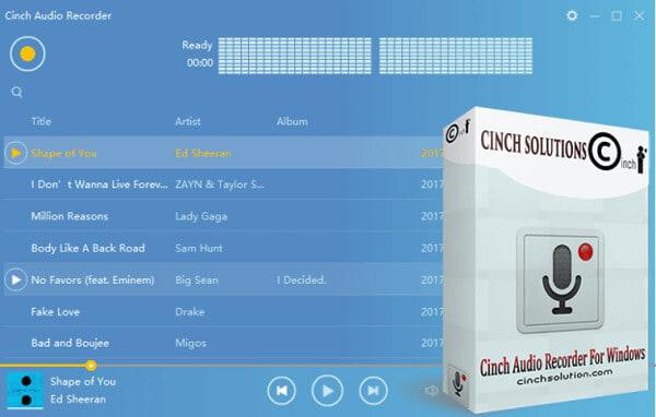 Αναθεώρηση εγγραφής ήχου Cinch