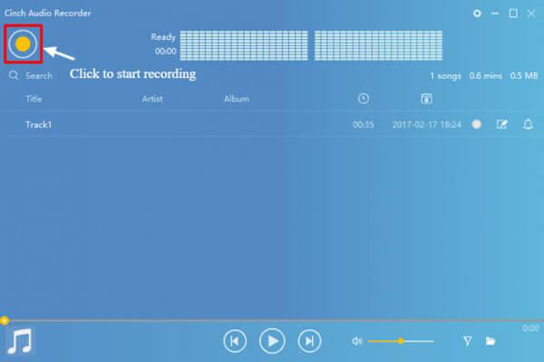 Ξεκινήστε την εγγραφή μουσικής με τη συσκευή εγγραφής ήχου Cinch