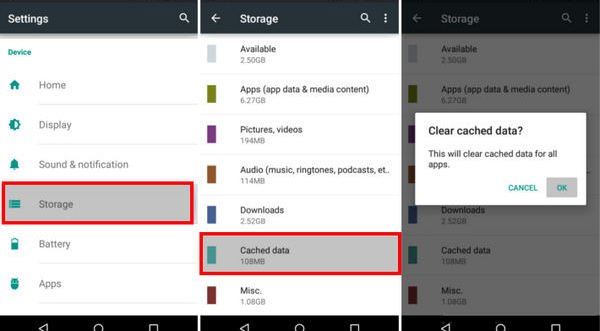 Clear cache android how to clear cache on android clear cache android all apps ccuart Image collections
