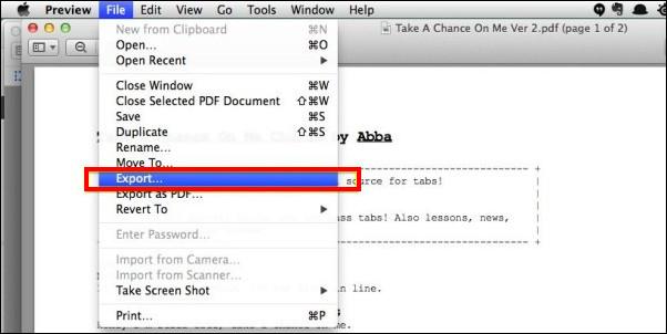 Εξαγωγή PDF