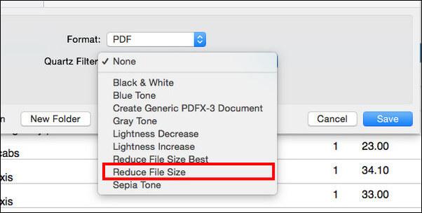 Μειώστε το μέγεθος του αρχείου PDF
