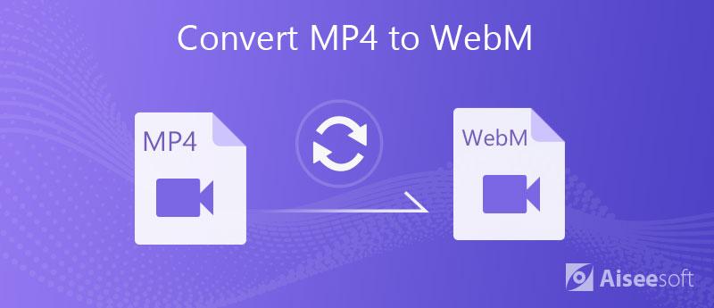 Converti MP4 in WebM