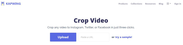 Video Kapwing Crop