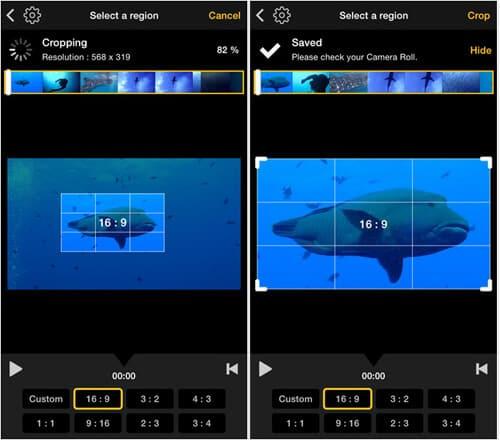 App di ritaglio video