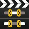 Εικονίδιο περικοπής και περικοπής βίντεο