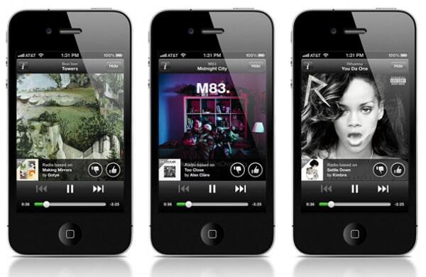 Spotify的音樂