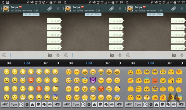 emoji iphone sur android root