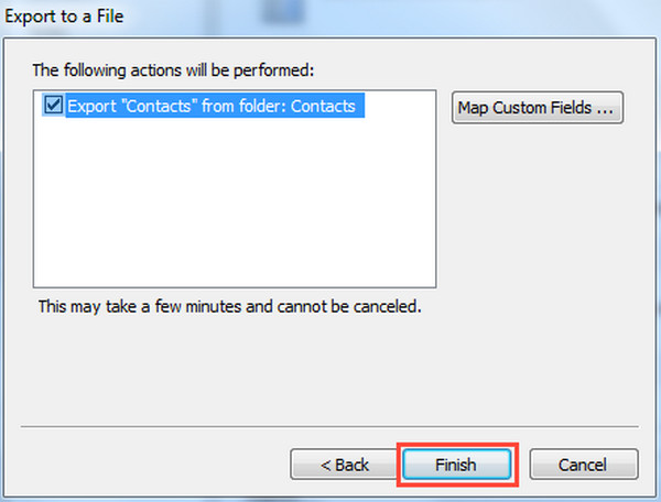 Make Sure to Export Contacts from Outlook 2010