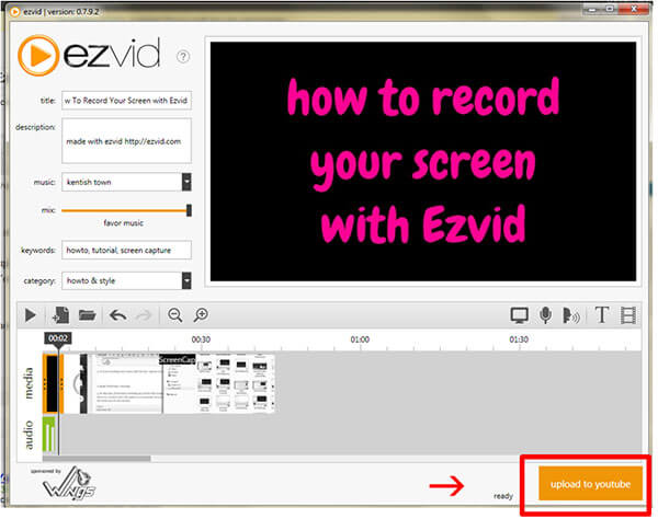 Ezvid Review - Free Video Editor and Screen Recorder