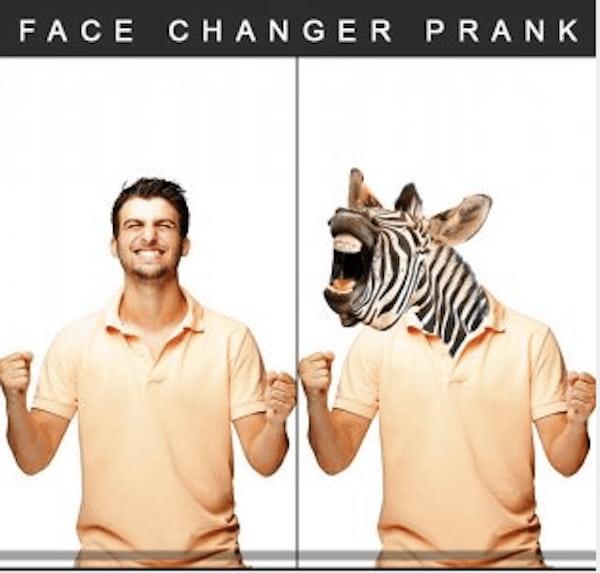 Face Changer Prank