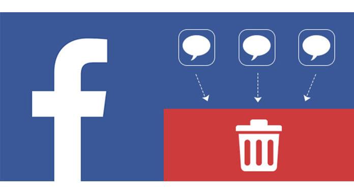 Jak usunąć wiadomości z Facebooka
