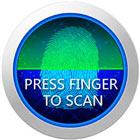 Schermata di blocco delle impronte digitali PRANK