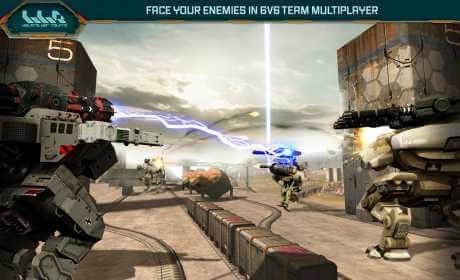 Πλοήγηση πολεμικών ρομπότ