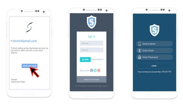 Δωρεάν Spy Android