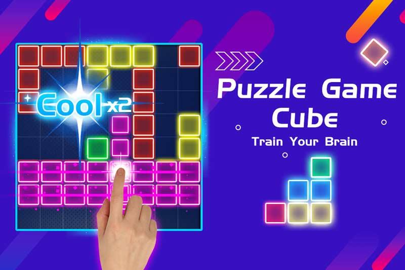 Παιχνίδι Cube παζλ