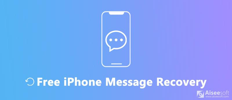 Darmowe odzyskiwanie wiadomości iPhone