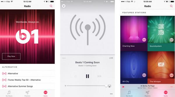 Εφαρμογή ραδιοφώνου Beats 1