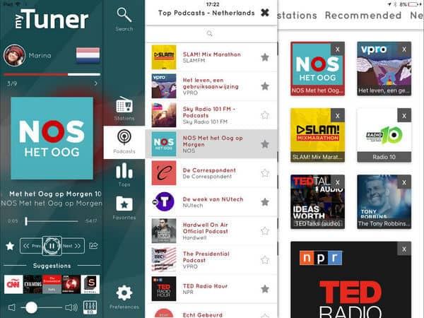 Εφαρμογή myTuner Radio