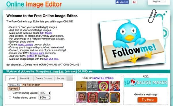 Edytor obrazów online