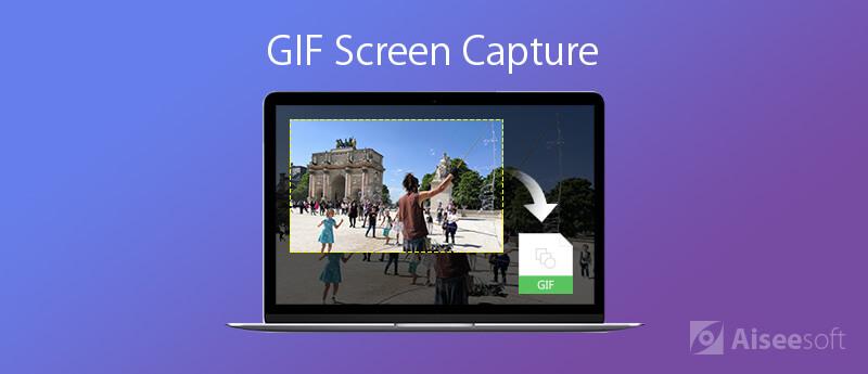 Przechwytywanie ekranu GIF
