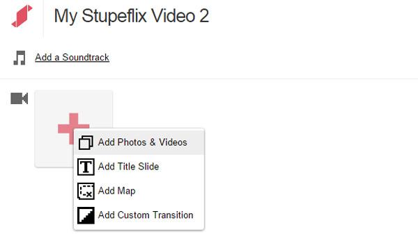 Δημιουργός βίντεο Stupeflix