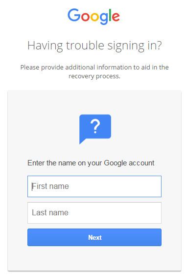 Reimposta password con e-mail