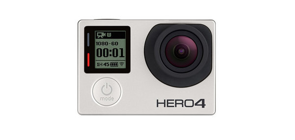 GoPro Hero4 Ασημί