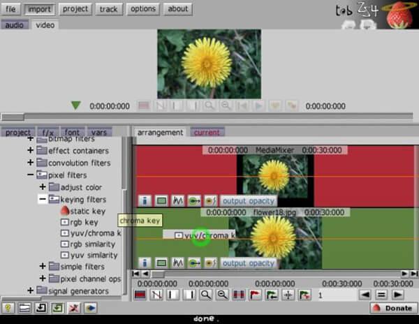 Videonmuokkausohjelma