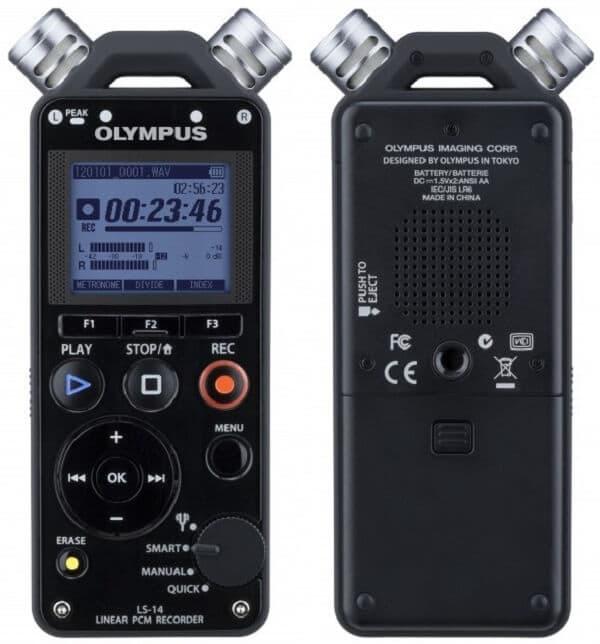 Przenośny rejestrator dźwięku Olympus LS 14