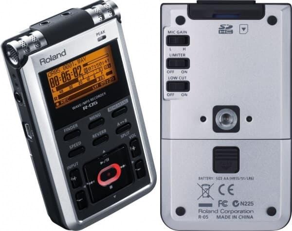 Roland R 05 Przenośny rejestrator kieszonkowy