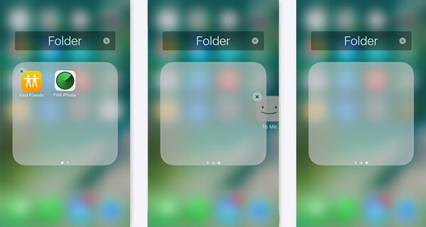 在iPhone上隱藏應用