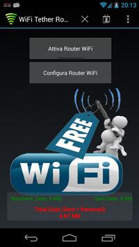 Δρομολογητής Wi-Fi Tether