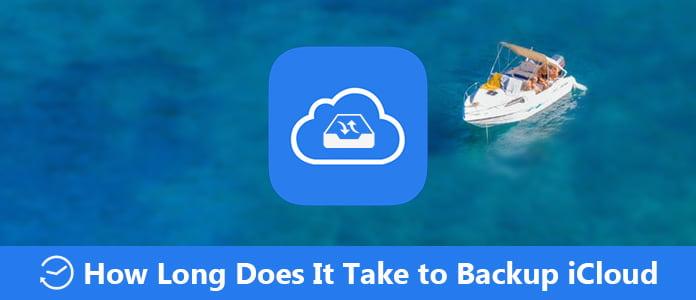 Quanto tempo impiega il backup di iCloud