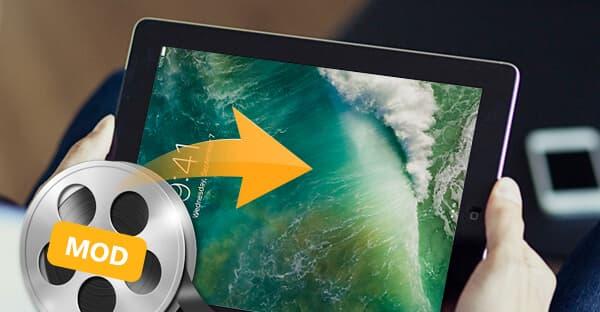 Konwertuj MOD na iPad 2