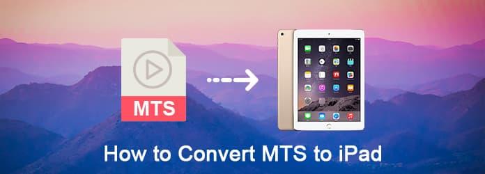 Konwertuj MTS na iPada