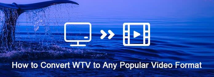 Μετατροπή WTV σε οποιαδήποτε δημοφιλή μορφή βίντεο