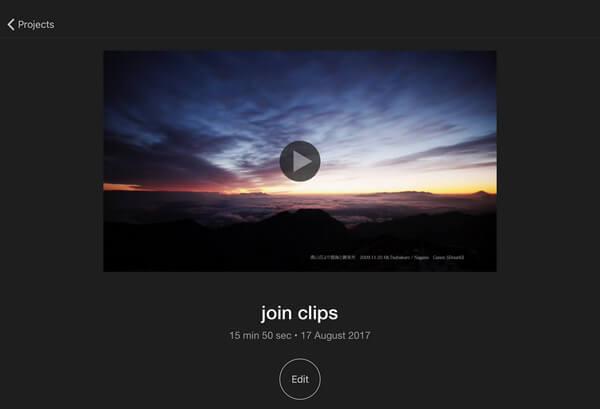 Unisciti a Clips in iMovie