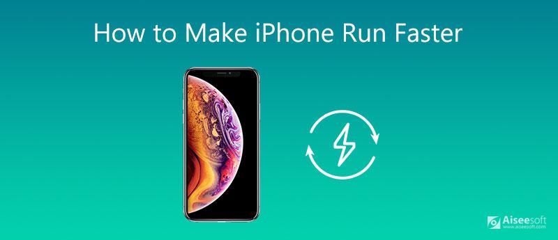 Jak zrobić iPhone'a szybciej