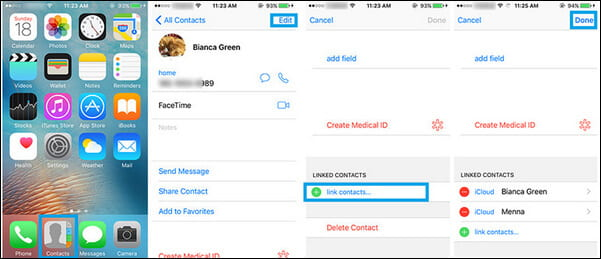 merge contacts iphone how to merge duplicate contacts step by step 2621