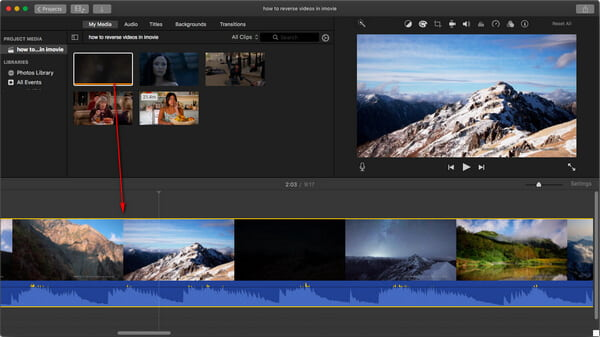 2018 Guide] How to Reverse Videos in iMovie