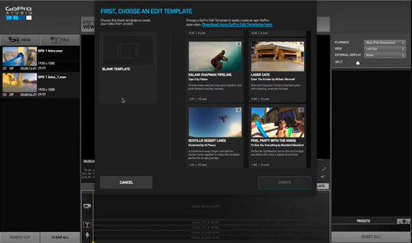 How to use gopro studio to edit gopro videos for How to use gopro studio templates