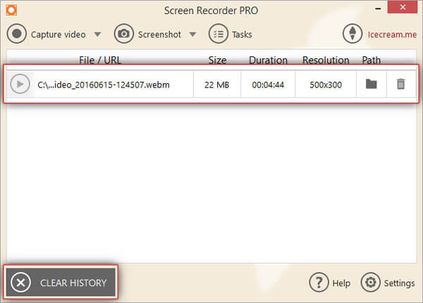 Save Screen Recording