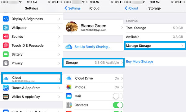 Delete Photos from iCloud via Camera Roll