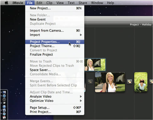 Updated] How to Set or Change Aspect Ratio in iMovie (11/10/09)
