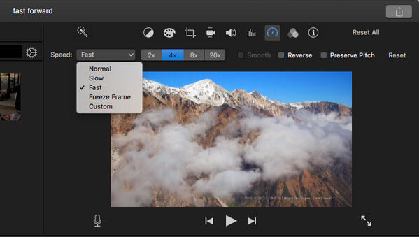 How to Fast Forward/Speed up Video in iMovie on iPhone & Mac