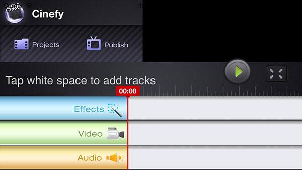 Cinefy-interface