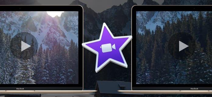 Διαχωριστική οθόνη iMovie